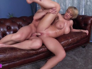 Jugs for Wiener Hugs: Dee Williams & LAZ FYRE FULL VIDEO tittyfuck titjob