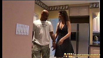 sexy brunette milf interracial porn fun with a big black dick
