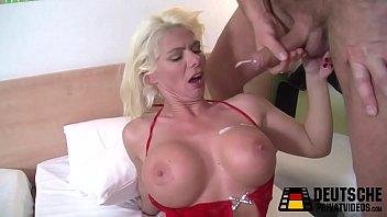 Blonde Milf with Silikon tits
