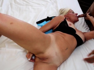 Horny Married MILF looking for Young BLACK cock