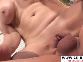 Mature makes BBC fuck