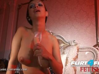 Lovia Flame on Flirt4Free Fetish - Hot Hard Bodied Euro Fucking Neck Fetish