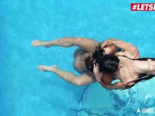 AGirlKnows - SPANISH LESBIAN BABES COMPILATION! Hottest Girl On Girl Orgasms - LETSDOEIT