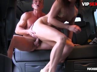 FuckedInTraffic - Nikky Sweet Big Ass Czech Babe Intense Public Car Fuck - VIPSEXVAULT