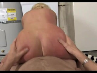 Busty bitch is picked up and fucked
