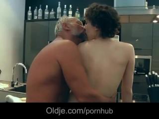Hot MILF Dayton Rains sucks off a black cock