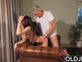 Riley Jenner is one sexy cum lover