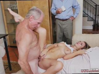 Old man fucks mom and friend's daughter and old moms fuck sons friend hd